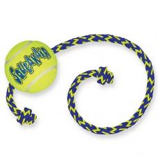 Kong SqueakAir Ball with Rope